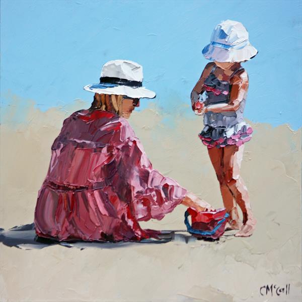 Mummy & Me - Limited Edition Giclee Art Print by Claire McCall