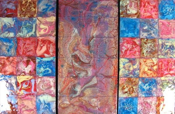 Squares  - Currently showing at Malvern gallery by Fiona Robinson