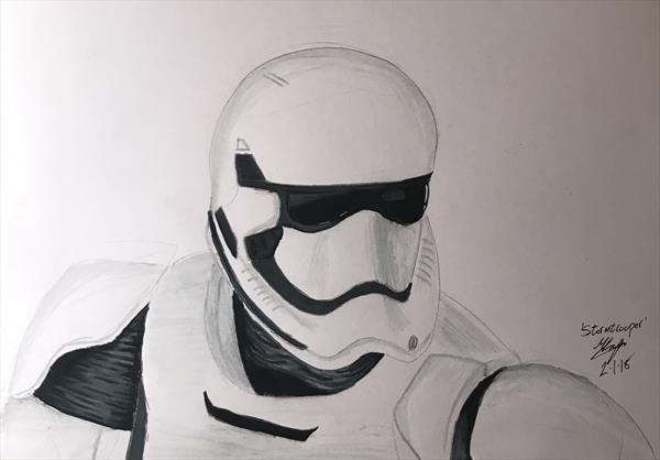 First Order Stormtrooper  by Michel Logue