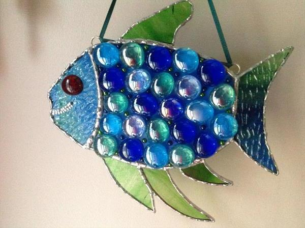 The Happy Glass Fish by Julie Stevenson