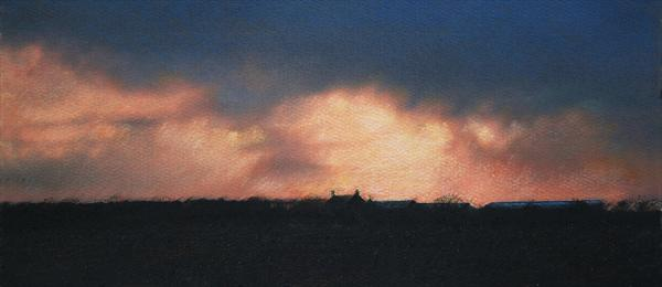 Northamptonshire Sunset by Mike Salt