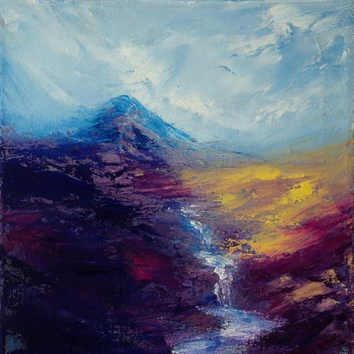 Torridon Falls by Kevin Sean O'Connell