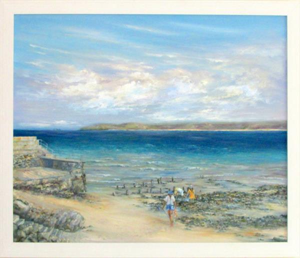 Searching Rock Pools by Patricia Cunningham