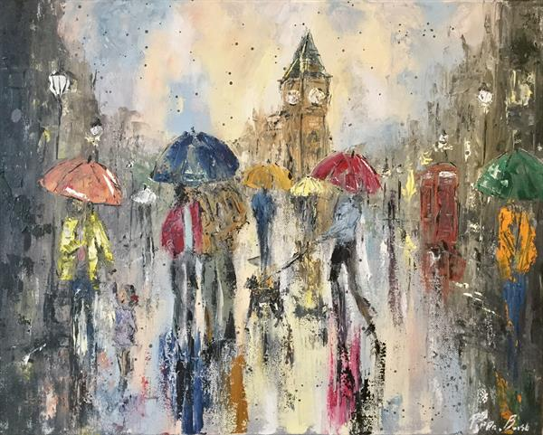 Daytime in the city by Pippa Buist