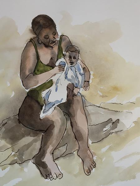 Beach Baby by Wendy Clouse