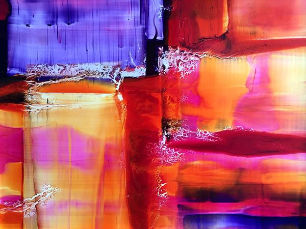 'Abstract in Colour' by Nora Doherty