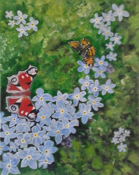 Forget me not  by John Dallimore