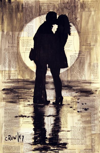 Moonlit lovers by darren crowley