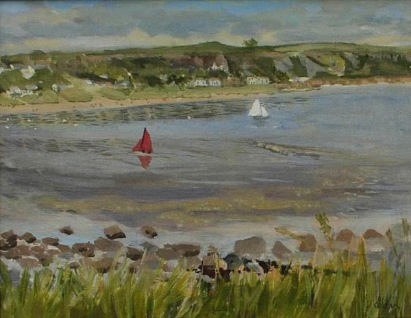 Two Out at Port Eynon by Sue Mann