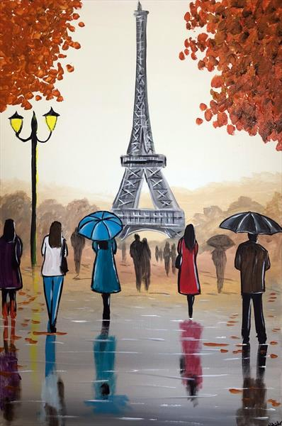 Autumn In Paris by Aisha Haider