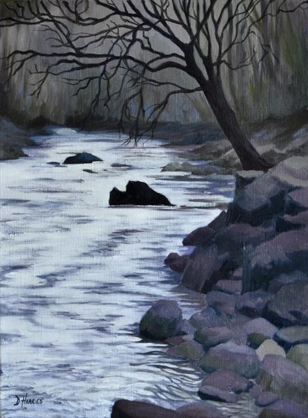 River Neath by Dawn Harries