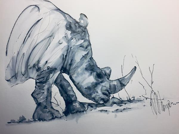 Save the Rhinos  by Wendy Thompson