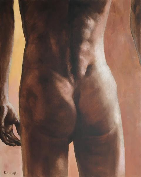 Male bottom by Peter Kavanagh
