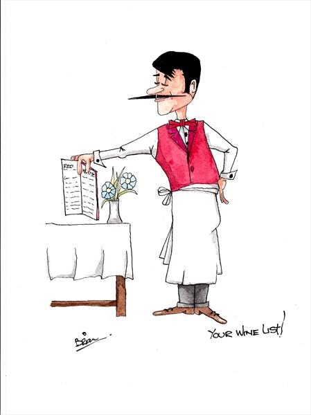 your wine list by Brian Maloy