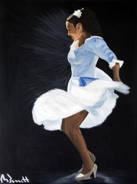 Flamenco 4 by Mark Bennett