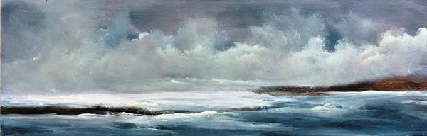 Anywhere The Wind Blows ~ Impressionist Seascape On Canvas 26