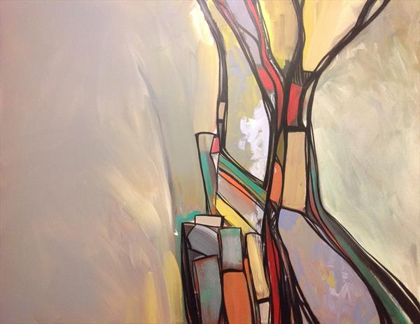 Abstract A1501 Tree by Mark Harris