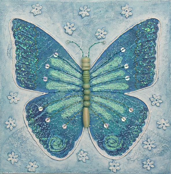 *SALE* Blue Butterfly by Josephine Grundy