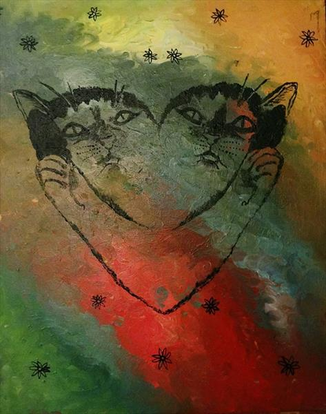 Cat Heart by Josephine  Armitage