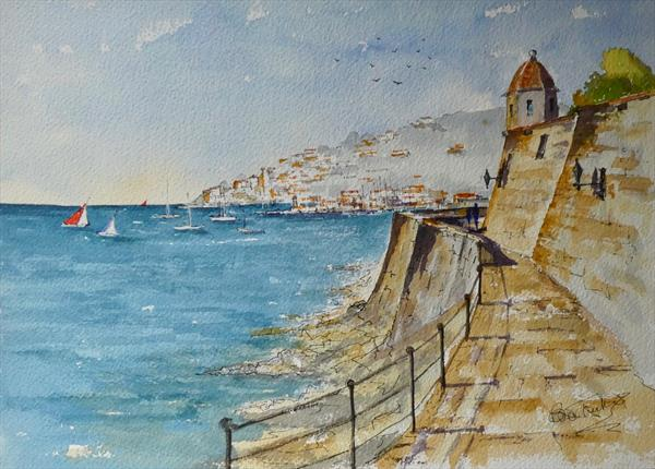 Villefranche on the Cote d'Azur by Brian Tucker