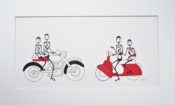 Mods and Rockers by Jools Lawley