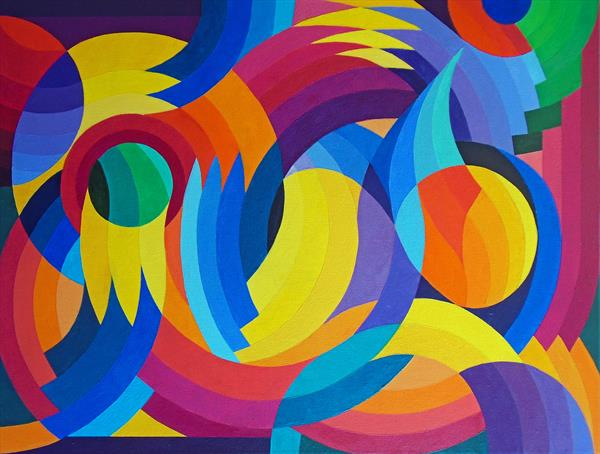 Celebration of Curves & Colours by Stephen Conroy