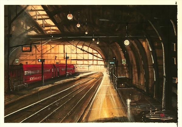 Station by Alan  Harris