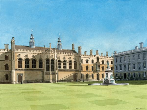 King's College, Cambridge by Andrew Dibben