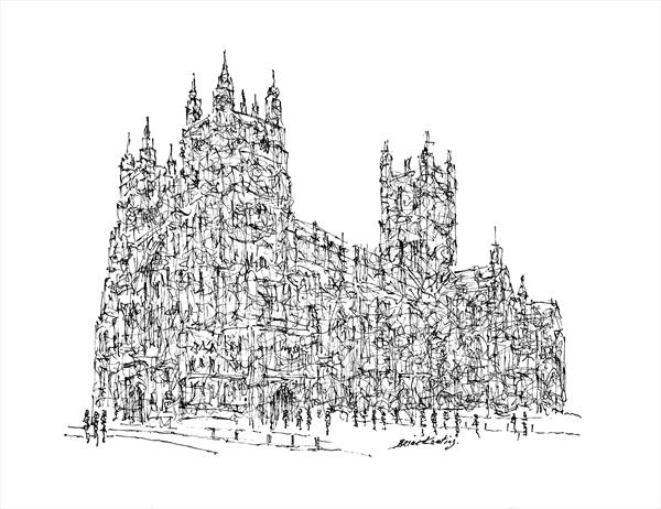 Canterbury Cathedral by Brian Keating