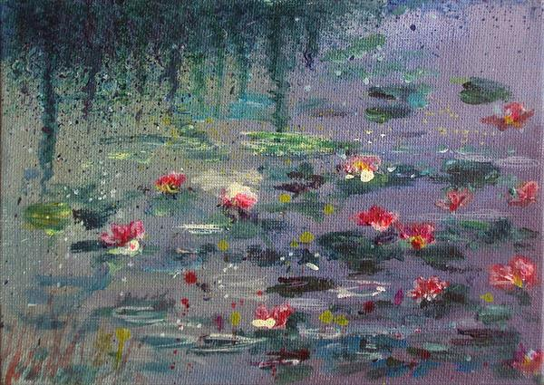 Impressionist Waterlilies small