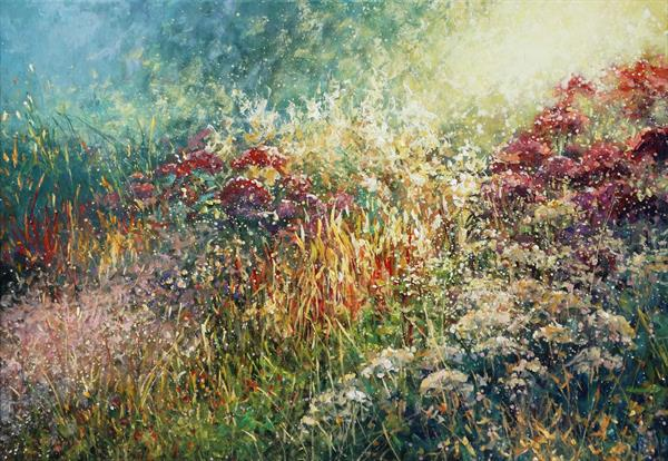 English Garden (on display at Art Gallery Tetbury) by Mariusz Kaldowski