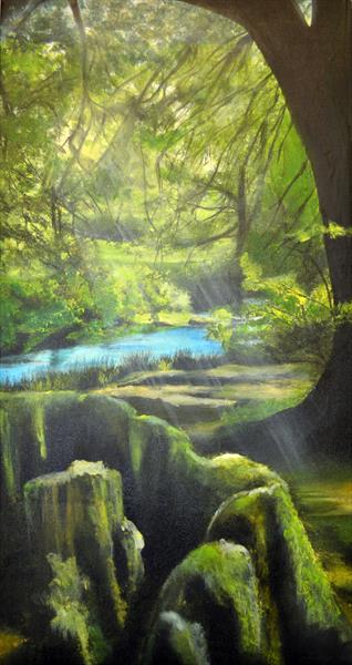 Golitha Falls by Clare Binding