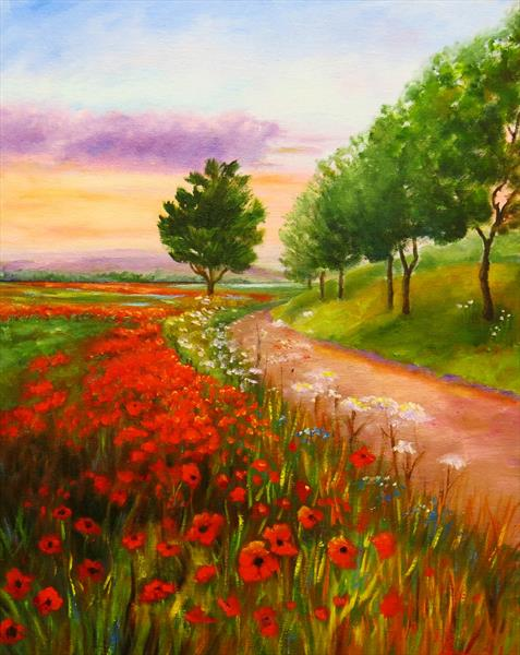Poppytime by Maureen Greenwood