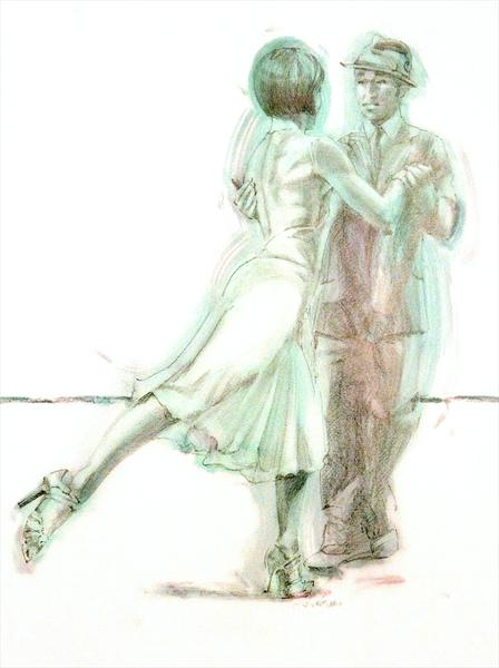 Midnight Tango (Study 1) by Charles Willmott