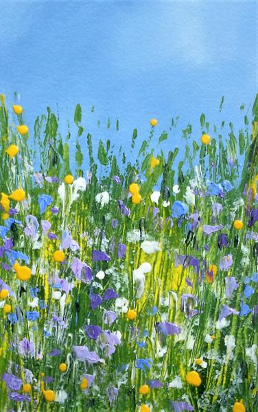 Hedgerow Flowers by Jan Rippingham