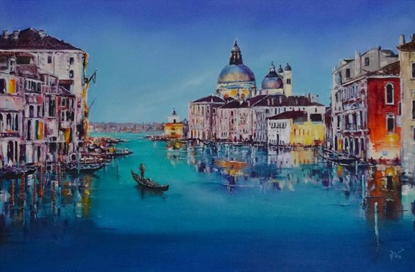 Venetian Days  by Mel Davies