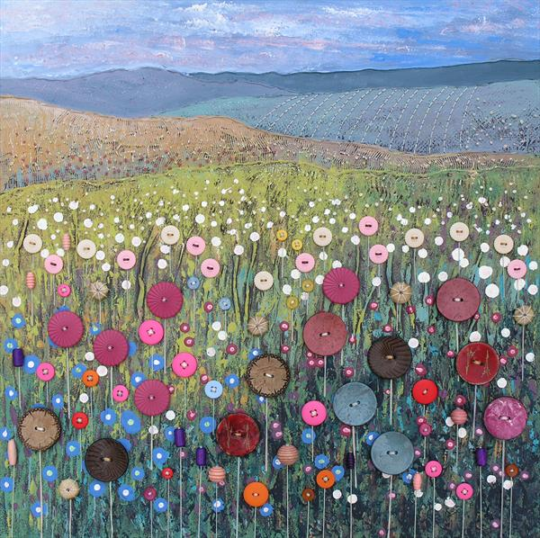 Button Meadow by Josephine Grundy