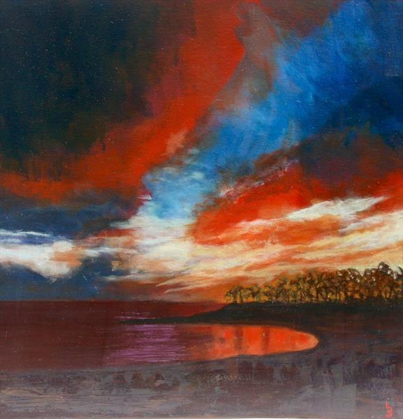 Evening colours by Lorraine Barker