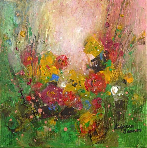 Autumn Flowers by Kalpana Soanes