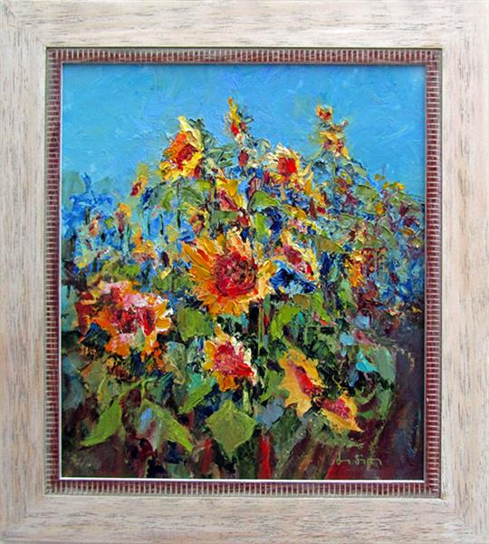 Sunflowers by Jean Simpson