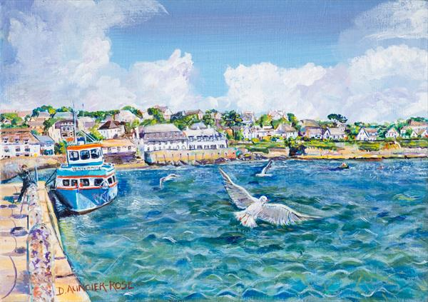ENTERPRISE AT ST MAWES by Diana Aungier - Rose