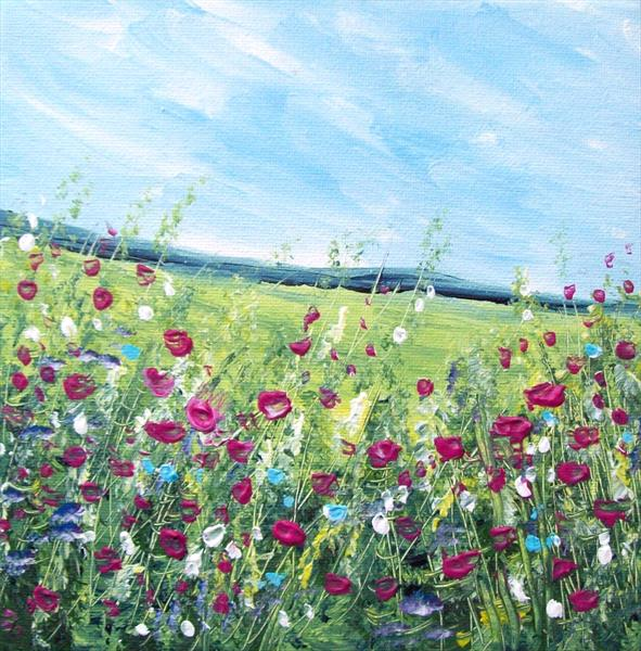 Summer  Wild Flowers by Patricia Richards