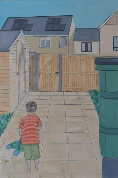 The new build council houses by Melissa Pentney