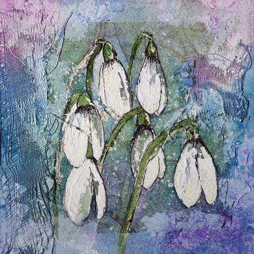 Snowdrops by Alison C. Board