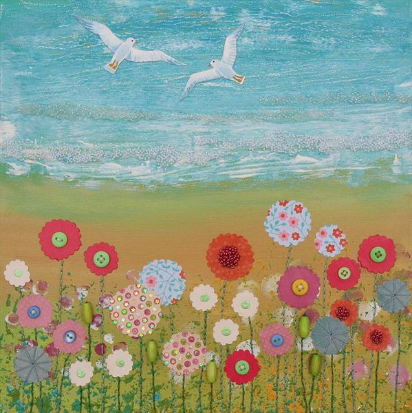 Coastal Flowers by Josephine Grundy