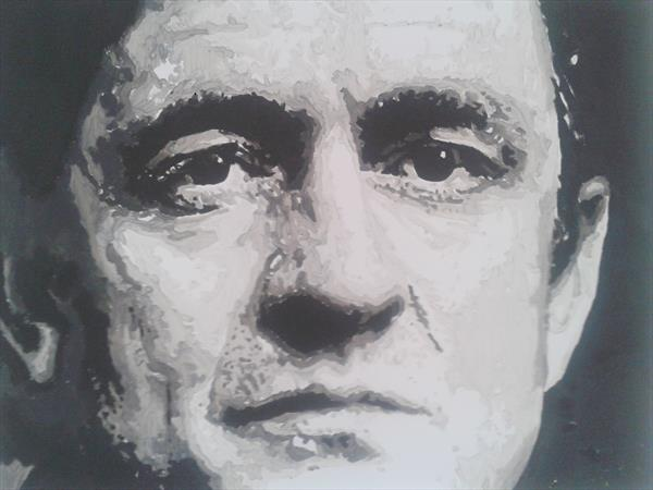 Johnny Cash by Andrew Paget