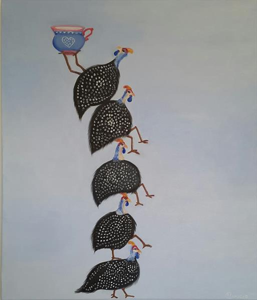 'The balancing act' by Fatima Figueira Camacho