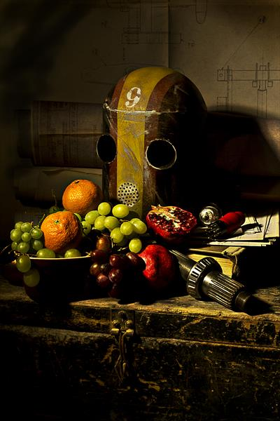 9 with Fruit by Andrew Ward