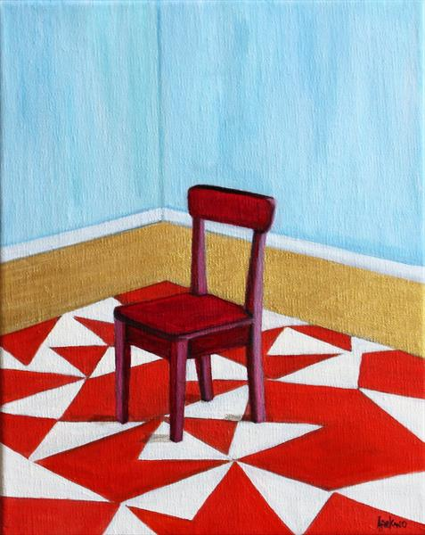 The Red Chair by Afekwo