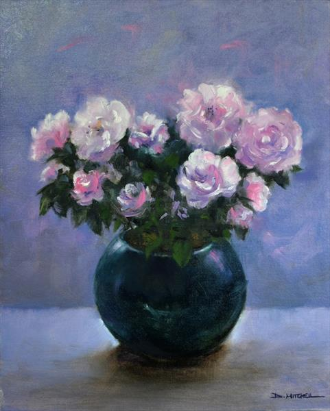 Pink Petals by Denise Mitchell